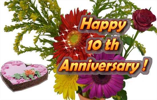 10th wedding anniversary husband