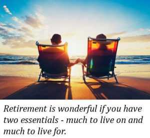 inspirational retirement sayings