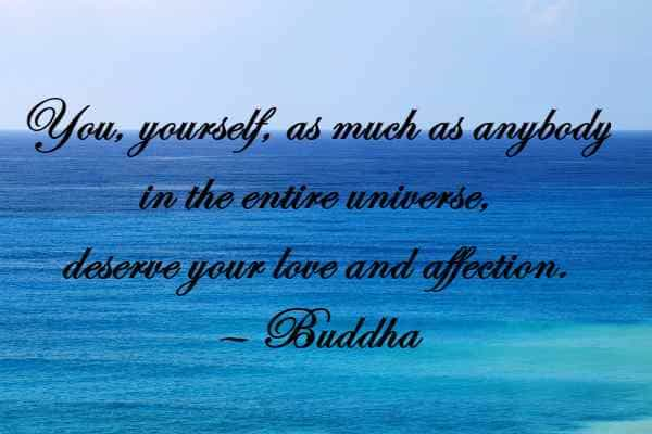 Gautama Buddha Quotes on Peace Comes Within and Love