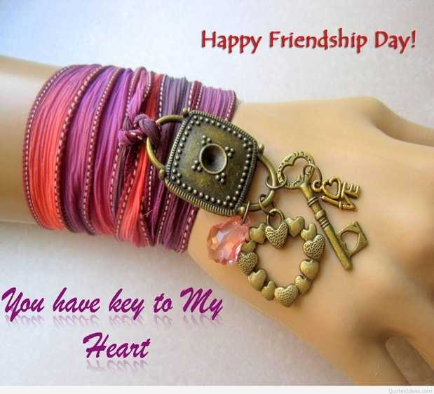 Friendship Day Bands With Quotes