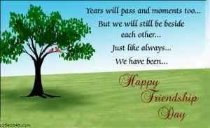 Happy Friendship Day in Advance Messages