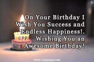 Happy Birthday Wishes for Loved Ones