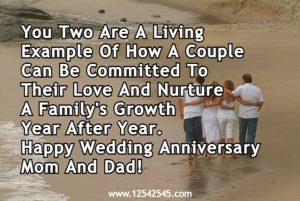 Wedding Anniversary Mom and Dad