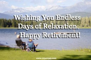 retirement messages for coworkers
