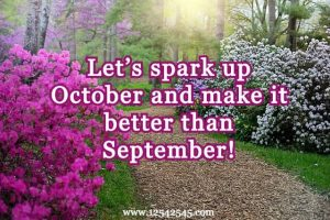 Happy October Month Quotes for Inspiration