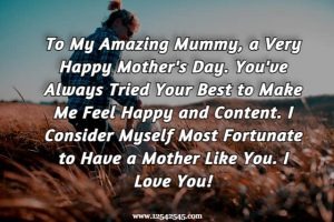 Happy Mother's Day Wishes for Mom