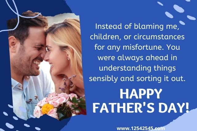 Happy Fathers Day Messages from Wife