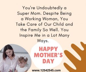 Happy Mothers Day Messages for Wife