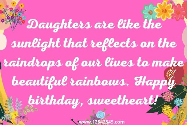 21st Birthday Wishes to Daughter
