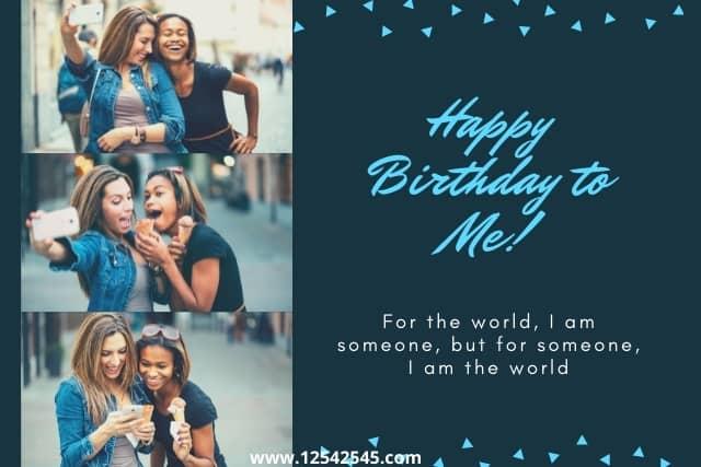 Best Birthday Wishes for Myself