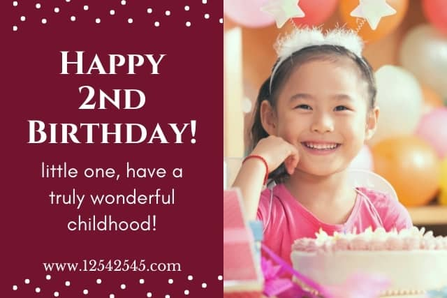 Birthday Wishes for a 2 Year Old Granddaughter
