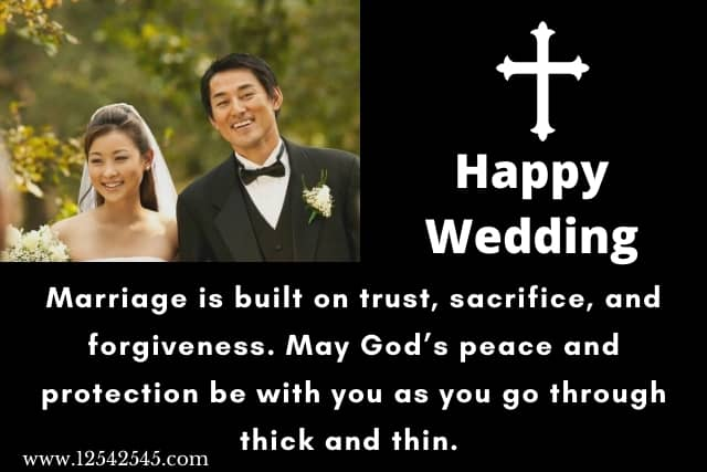 Christian Wedding Wishes Messages