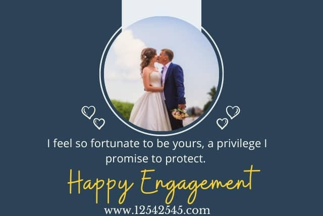 engagement anniversary wishes for fiance