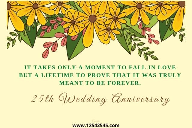 25th anniversary wishes brother sister in law