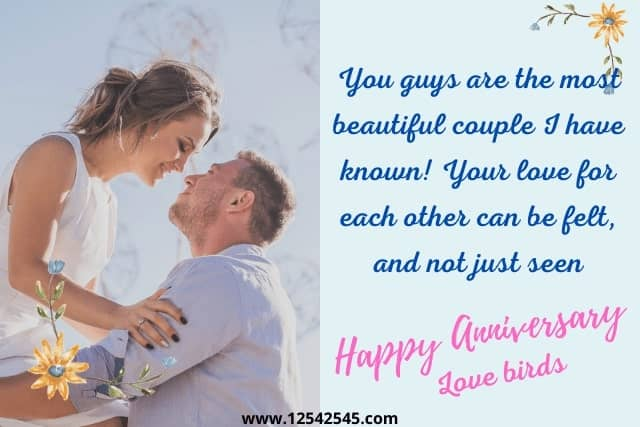 Wedding Anniversary Wishes for Daughter and Son in Law