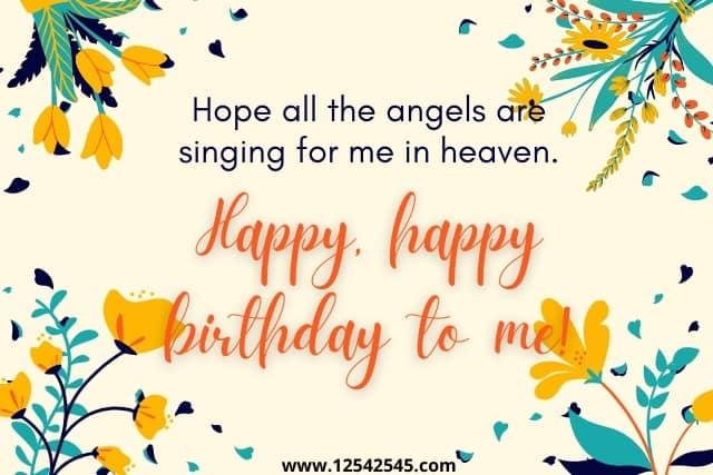 Inspirational Birthday Wishes to Myself