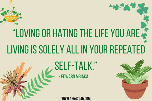 Positive Self-Talk Quotes