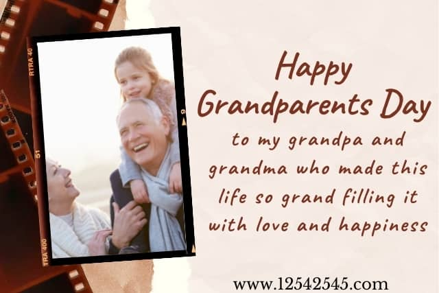 Grandparents day wishes