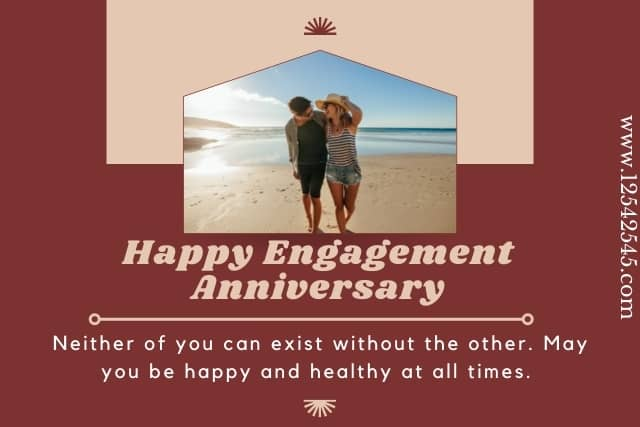 engagement anniversary wishes to couples