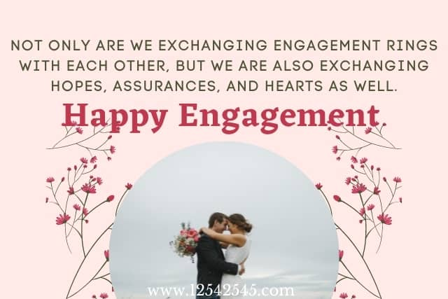 Engagement Anniversary Wishes for Fiancee
