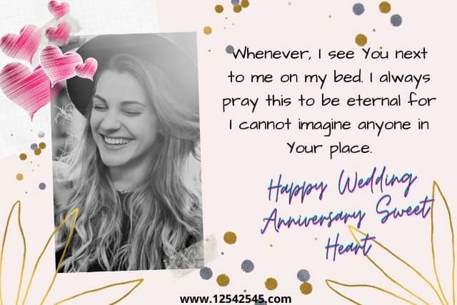 Happy Wedding Anniversary Messages for Wife