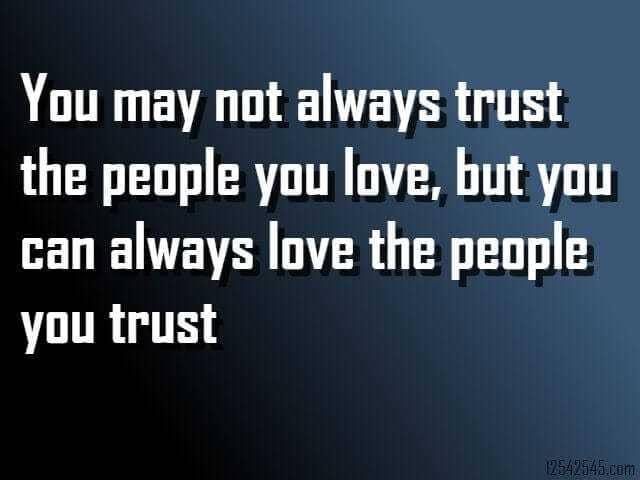 Whatsapp Status on Trust in Relationship